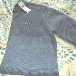 Men's Lacoste pullover sweater
